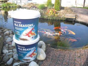 Vente d'Aliments pour poissons
