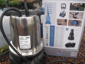 pompe de relevage et d'irrigation