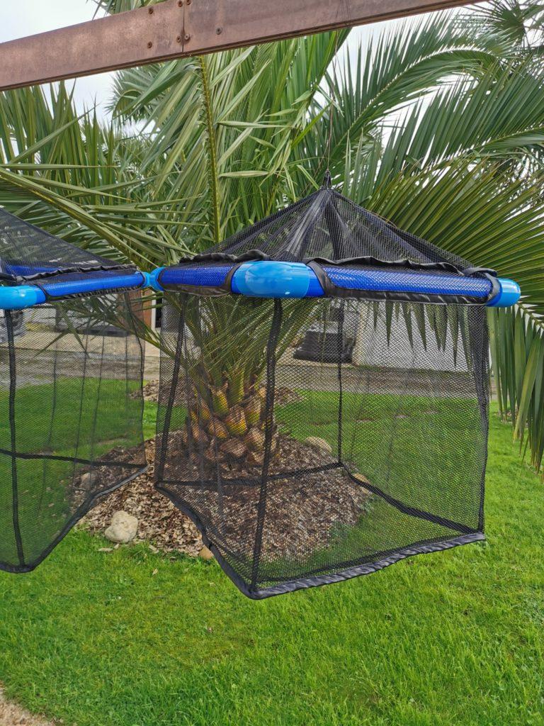 Cage flottante à poisson